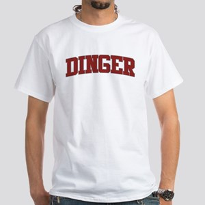 DINGER Design White T-Shirt